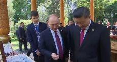 بوتين ورئيس الصين