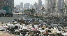 القمامة تحاصر شوارع مدينة المحلة الكبرى بمحافظة الغربية