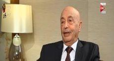 المستشار عقيلة صالح رئيس مجلس النواب الليبى