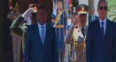 الرئيس السيسى ونظيره الموزمبيقى