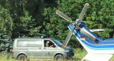 قوات الأمن لموقع تحطم الطائرتين