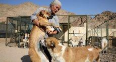رئيسة جمعية الربيع لحماية البيئة والحيوان