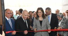 جانب من افتتاح محكمة شمال القاهرة