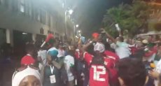 احتفالات مشجعى مدغشقر