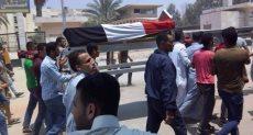 جنازة محمد محمد عبد السلام العباسى