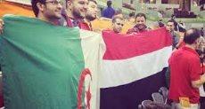 الجماهير مصر والجزائر