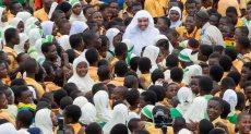 أمين عام رابطة العالم الإسلامي يدشن عدد من المشاريع التنموية فى غانا