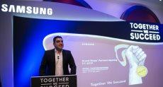 أحمد جعفر رئيس قطاع التسويق بشركة سامسونج