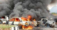 سيارة مفخخة فى بنغازى