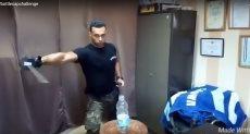 تحدى غطاء الزجاجة