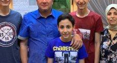 الطالب محمود محمد بيومى الشبلنجى وأسرته