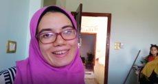 هبة محمد سيد سليمان الثانية على الثانوية العامة