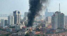 حريق فى فندق بالصين