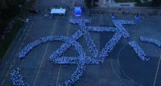 مهرجان موسكو الليلى للدراجات