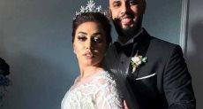 الإذاعية مى ابراهيم تفاجىء متابعيها بصور زفافها من عمرو وهبة