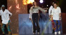 دنيا سمير غانم من حفل ختام أمم أفريقيا 2019