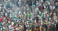 احتفلت جماهير الجزائر