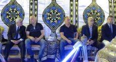 عزاء شقيق التوأم حسام وإبراهيم حسن