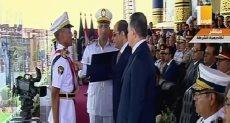 الرئيس السيسى يكرم أوائل كلية الشرطة