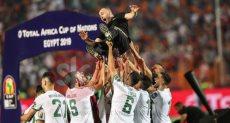 فرحة لاعبو الجزائر بجمال بلماضي