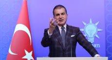 عمر تشليك المتحدث باسم حزب العدالة والتنمية وهو حزب أردوغان