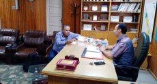 الدكتور هانى جميعة وكيل وزارة الصحة بسوهاج.