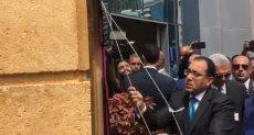 رئيس الوزراء يتفقد جراج روكسي