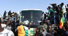 استقبال اسطوري لمنتخب السنغال