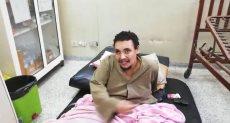 محمود شاب وزنه 400 كجم