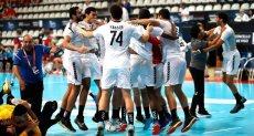فوز فريق كرة اليد المصري فى مونديال أسبانيا