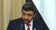 وزير الخارجيه الاماراتي