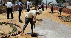 قرية تل روزن ضمن مبادرة رئيس الجمهورية لتطوير القري