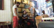 محرر دوت مصر يتعرض للضرب
