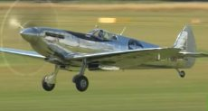 """طائرة """"سبتفاير"""" البريطانية"""
