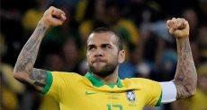 اللاعب البرازيلى دانى ألفيس