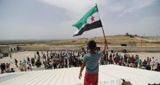 لاجئين سوريين أرشيفية