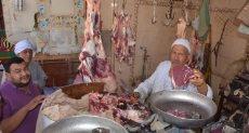 اقبال الأهالى على شراء اللحوم