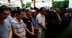 صلاة العيد فى الصين