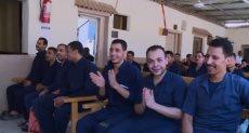 رد فعل السجناء بعد الإفراج عنهم بمناسبة عيد الأضحي