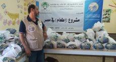 رابطة العالم الإسلامي تطلق مشروع الاطعام فى عيد الاضحى لاربعة آلاف أسرة بالقرى المصرية
