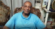 سيد شحاته حسين لاعب الزمالك ومنتخب مصر السابق في الكرة الطائرة