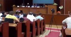 لقاء مفتوح بين نائي رئيس جامعة الأزهر والطلاب