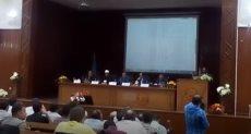 لقاء مفتوح بين نائب رئيس جامعة الأزهر و الطلاب الجدد