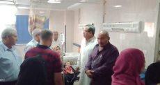 لجنة التفتيش بمستشفى الشاملة بشبين القناطر