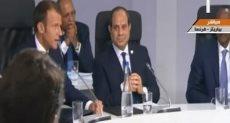 جلسة الرئيس السيسى مع رؤساء أفريقيا
