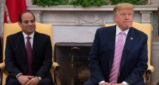 الرئيس السيسى مع ترامب على هامش اجتماعات قمة السبع