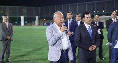وزير الرياضة وساويرس يشهدان فعاليات بطولة كأس ZED اللاعبين الناشئين
