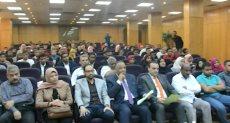 جانب من جلسة محاكاة برلمانى الطلائع والشباب للنهوض بالتعليم بالأقصر