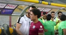 محمد إبراهيم لاعب مصر المقاصة