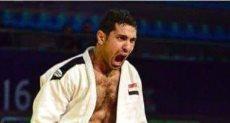 محمد عبد العال لاعب الجودو